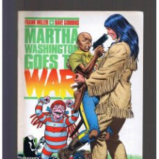 Cómics: MARTHA WASHINGTON GOES TO WAR Nº 4 NORMA EDITORIAL FRANK MILLER GIBBONS. Lote 130353218