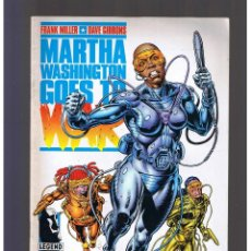 Cómics: MARTHA WASHINGTON GOES TO WAR Nº 5 NORMA EDITORIAL FRANK MILLER GIBBONS. Lote 130353310
