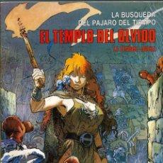 Cómics: LA BUSQUEDA DEL PAJARO DEL TIEMPO 3 - EL TEMPLO DEL OLVIDO - COL. CIMOC EXTRA COLOR 25 1989 2ª ED. Lote 130358470