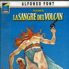 Cómics: ALFONSO FONT - ROHNER - LA SANGRE DEL VOLCAN - COL. PANDORA Nº 7 - NORMA 1990 1ª EDICION. Lote 130358750
