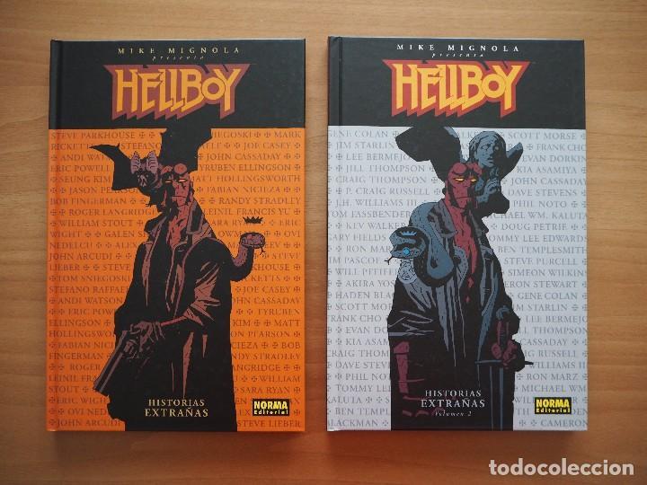 HELLBOY - HISTORIAS EXTRAÑAS - VOLÚMENES 1 Y 2 - MIKE MIGNOLA (Tebeos y Comics - Norma - Comic USA)