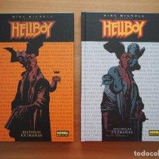 Cómics: HELLBOY - HISTORIAS EXTRAÑAS - VOLÚMENES 1 Y 2 - MIKE MIGNOLA. Lote 130364310