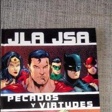 Cómics: JLA JSA PECADOS Y VIRTUDES NORMA EDITORIAL. Lote 130446866