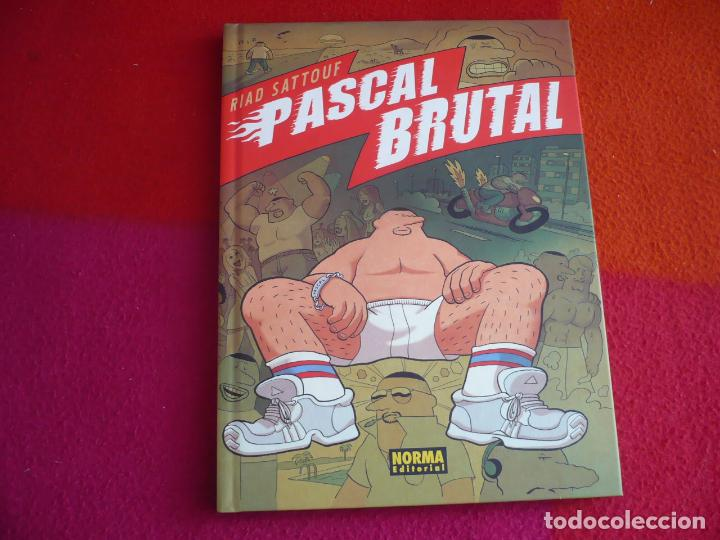 PASCAL BRUTAL ( RIAD SATTOUF ) ¡MUY BUEN ESTADO! NORMA TAPA DURA (Tebeos y Comics - Norma - Comic Europeo)