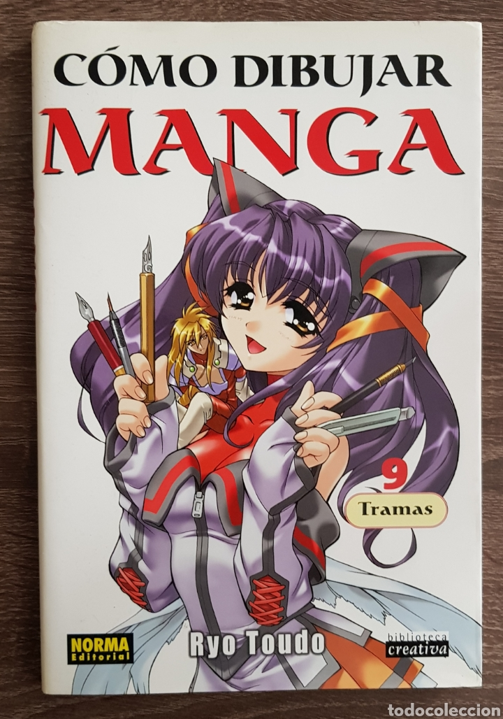 COMO DIBUJAR MANGA RYO TOUDO 9 TRAMAS EDITORIAL NORMA (Tebeos y Comics - Norma - Otros)