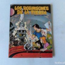 Cómics: LOS ROBINSONES DE LA TIERRA - LECUREUX / ALFONSO FONT - ÁLBUM NORMA. Lote 131047020