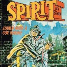 Cómics: SPIRIT ¿QUIEN MATO A COX ROBIN? (WILL EISNER) CIMOC EXTRACOLOR 32 - NORMA - BUEN ESTADO - OFI15T. Lote 131062996