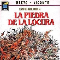 Cómics: EL PAIS DEL FIN DEL MUNDO Nº 4 LA PIEDRA DE LA LOCURA - COL. PANDORA Nº 19 - NORMA - OFI15. Lote 131082528