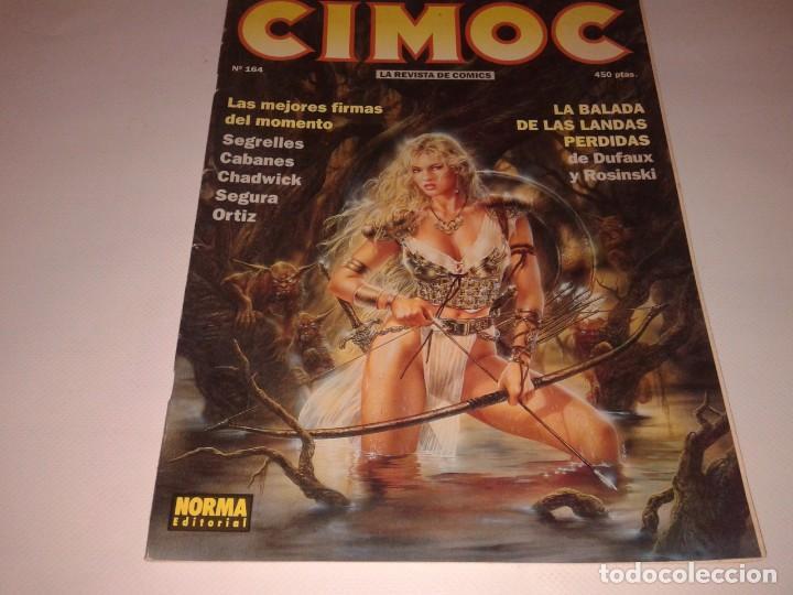 , CIMOC NUMERO 164, NORMA EDITORIAL (Tebeos y Comics - Norma - Cimoc)
