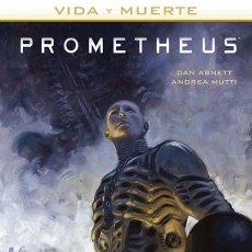 Comics - Cómics. VIDA Y MUERTE 2. PROMETHEUS - Dan Abnett/Andrea Mutti (Cartoné) - 161778913