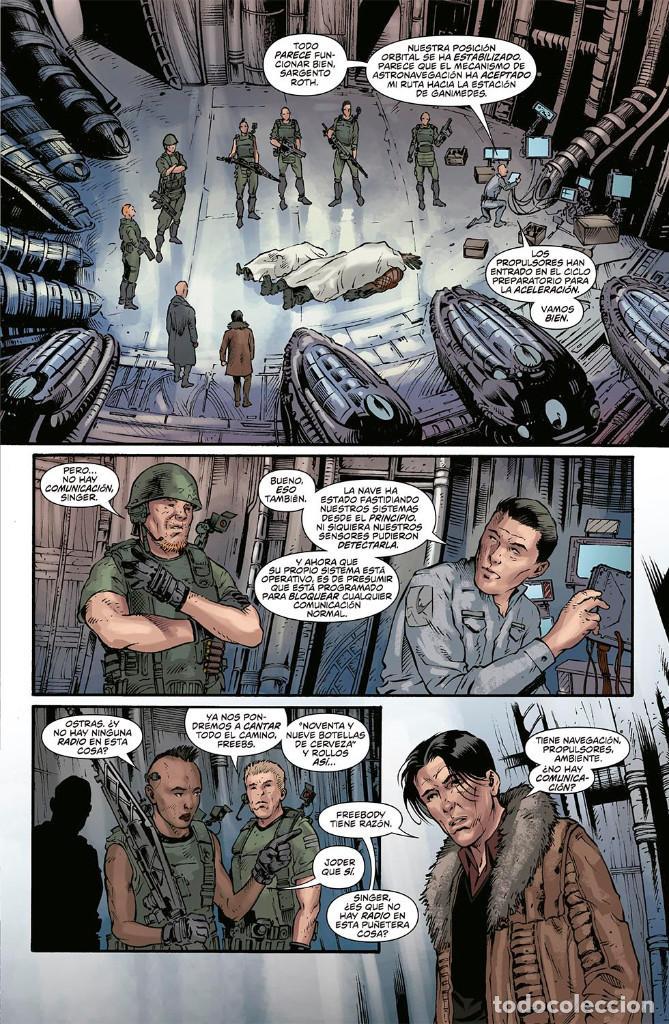 Cómics: Cómics. VIDA Y MUERTE 2. PROMETHEUS - Dan Abnett/Andrea Mutti (Cartoné) - Foto 2 - 161778913