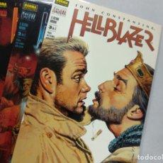 Cómics: HELLBLAZER: EL ÚLTIMO HOMBRE (LOTE DE 3 TOMOS) COMPLETA - PAUL JENKINS. Lote 131556618