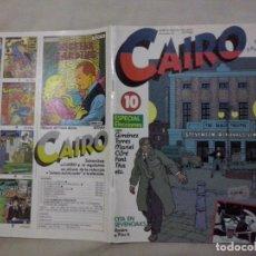 Cómics: TEBEOS Y COMICS: CAIRO Nº 10 (ABLN). Lote 131659810