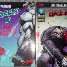 Cómics: BREED Y BREED II SERIES COMPLETAS NORMA EDITORIAL. Lote 131749450