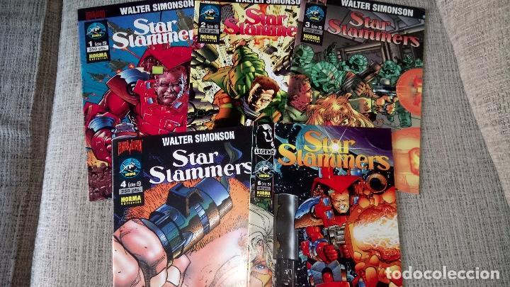 STAR SLAMMERS SERIE COMPLETA NORMA EDITORIAL (Tebeos y Comics - Norma - Comic USA)
