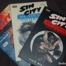 Cómics: SIN CITY- IDA Y VUELTA AL INFIERNO- FRANK MILLER. Lote 131974098