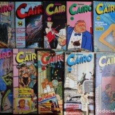 Cómics: LOTE DE 10 COMICS CAIRO VER FOTOS . Lote 132203098