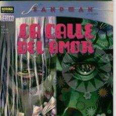Cómics: THE SANDMAN, LA CALLE DEL AMOR, NEIL GAIMAN. Lote 132475934