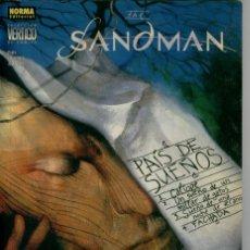 Cómics: THE SANDMAN, PAIS DE SUEÑOS, NEIL GAIMAN. Lote 132476058
