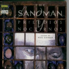 Cómics: THE SANDMAN, PRELUDIOS Y NOCTURNOS, NEIL GAIMAN. Lote 132476122