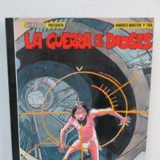 Cómics: LA GUERRA DE LOS DIOSES. ANDREU MARTIN Y THA. NORMA EDITORIAL 1985. VER FOTOGRAFIAS ADJUNTAS. Lote 132842502