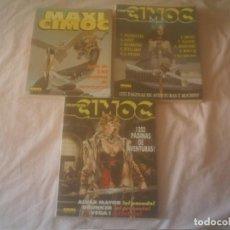 Cómics: SUPER CIMOC RETAPADOS Nº 2 Y 3 Y MAXI CIMOC Nº 1 . Lote 132876362