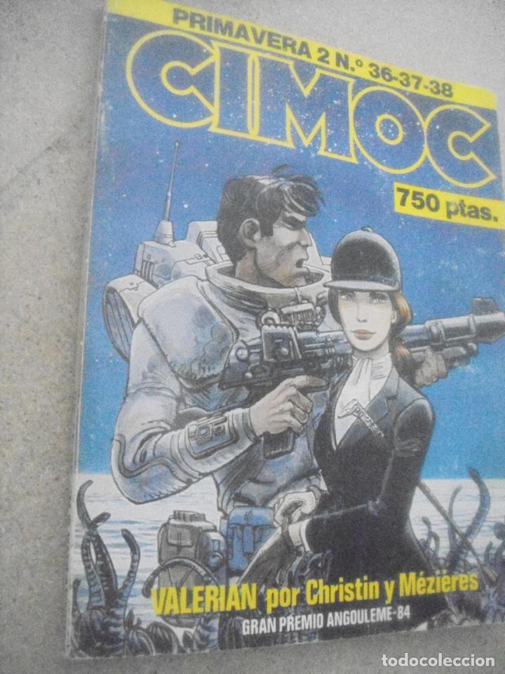 CIMOC Nº 36 AL 38 - PRIMAVERA 2 - ED.NORMA (Tebeos y Comics - Norma - Cimoc)