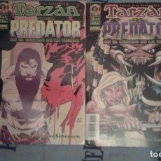Fumetti: TARZAN VERSUS PREDATOR: EN EL CENTRO DE LA TIERRA: COLECCION COMPLETA: WALTER SIMONSON: NORMA. Lote 133778026