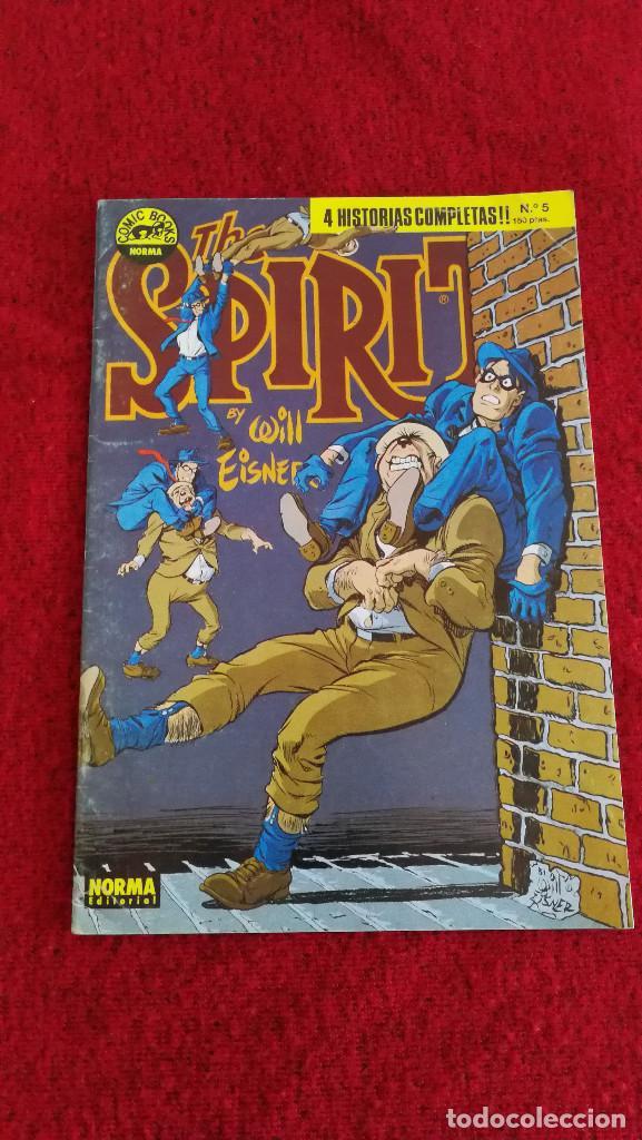 SPIRIT COMICS EDITORIAL NORMA LOTE DE 6 NUMEROS, MUY BUEN ESTADO (Tebeos y Comics - Norma - Comic USA)