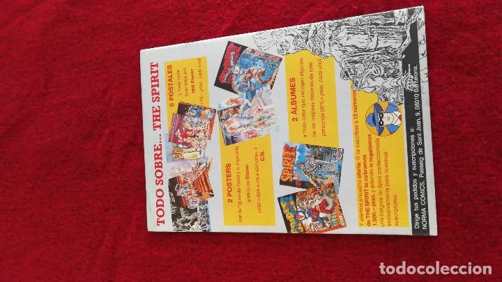 Cómics: SPIRIT COMICS EDITORIAL NORMA LOTE DE 6 NUMEROS, MUY BUEN ESTADO - Foto 12 - 133890726