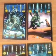 Cómics: ALIENS NIDO (COMPLETA) - PROSSER & JONES - ED NORMA 1993 - GRAPA 32 PAG C/U - BUEN ESTADO. Lote 133933478