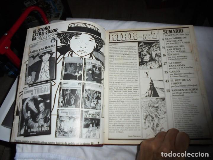 Cómics: SARGENTO KIRK TOMO CON 6 NUMEROS DEL Nº 7 AL 12 INCLUIDO.-1982 - Foto 2 - 133969402