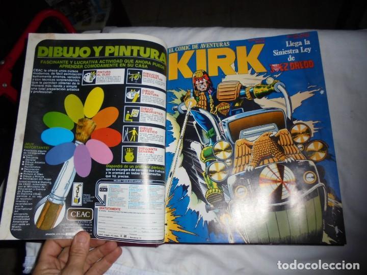 Cómics: SARGENTO KIRK TOMO CON 6 NUMEROS DEL Nº 7 AL 12 INCLUIDO.-1982 - Foto 6 - 133969402