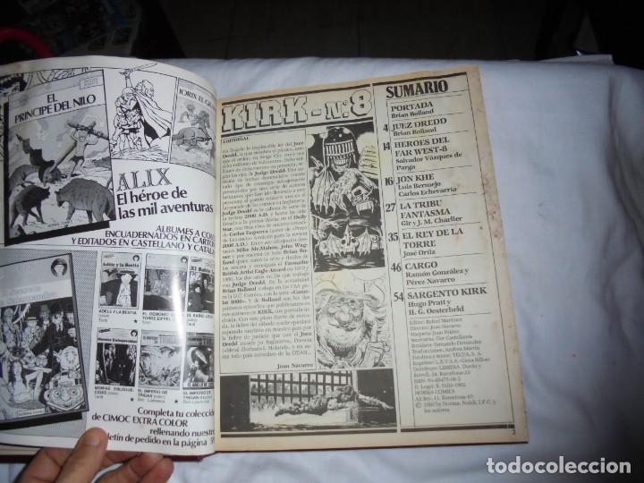 Cómics: SARGENTO KIRK TOMO CON 6 NUMEROS DEL Nº 7 AL 12 INCLUIDO.-1982 - Foto 7 - 133969402