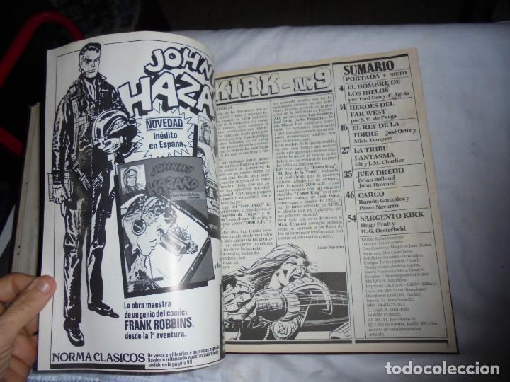 Cómics: SARGENTO KIRK TOMO CON 6 NUMEROS DEL Nº 7 AL 12 INCLUIDO.-1982 - Foto 10 - 133969402