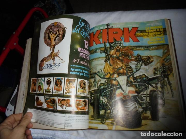 Cómics: SARGENTO KIRK TOMO CON 6 NUMEROS DEL Nº 7 AL 12 INCLUIDO.-1982 - Foto 12 - 133969402