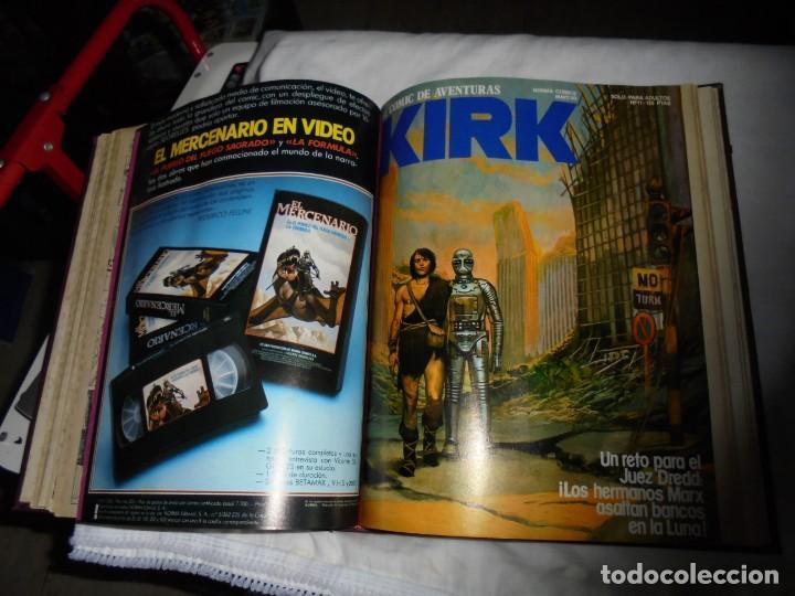 Cómics: SARGENTO KIRK TOMO CON 6 NUMEROS DEL Nº 7 AL 12 INCLUIDO.-1982 - Foto 15 - 133969402