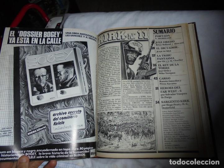 Cómics: SARGENTO KIRK TOMO CON 6 NUMEROS DEL Nº 7 AL 12 INCLUIDO.-1982 - Foto 16 - 133969402