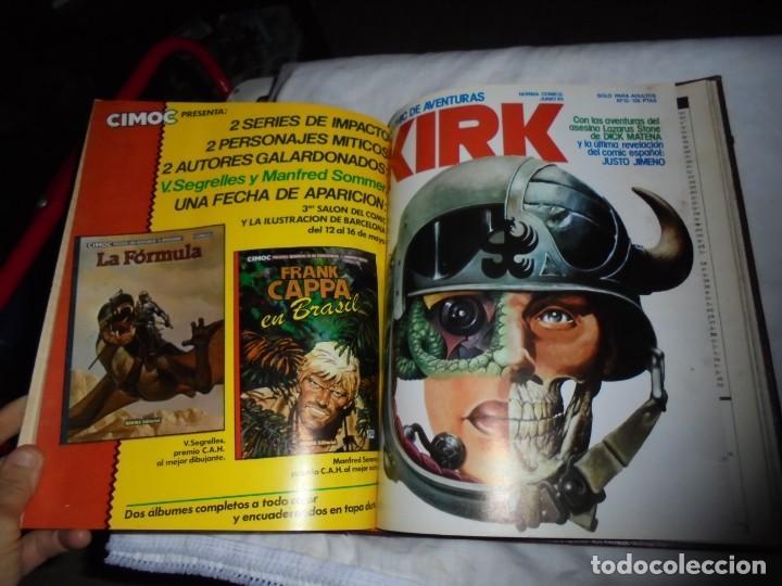 Cómics: SARGENTO KIRK TOMO CON 6 NUMEROS DEL Nº 7 AL 12 INCLUIDO.-1982 - Foto 18 - 133969402