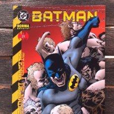 Cómics: BATMAN, TIERRA DE NADIE Nº 21 (DE 25) NORMA EDITORIAL AÑO 2002.. Lote 45711141