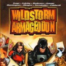 Cómics: WILDSTORM ARMAGEDDON - NORMA - OFI15J. Lote 134028670