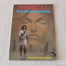 Cómics: THORGAL. MAS ALLA DE LAS SOMBRAS - EDICIONES DISTRINOVEL 1983. Lote 134039238
