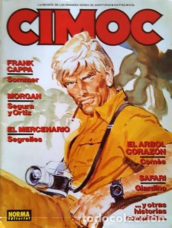 REVISTA DE AVENTURAS CIMOC Nº 86 - (Tebeos y Comics - Norma - Otros)