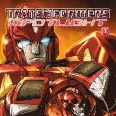 Fumetti: TRANSFORMERS,SPOTLIGHT. COLECCION COMPLETA: 4 TOMOS. NORMA. RUSTICA.. Lote 153934073