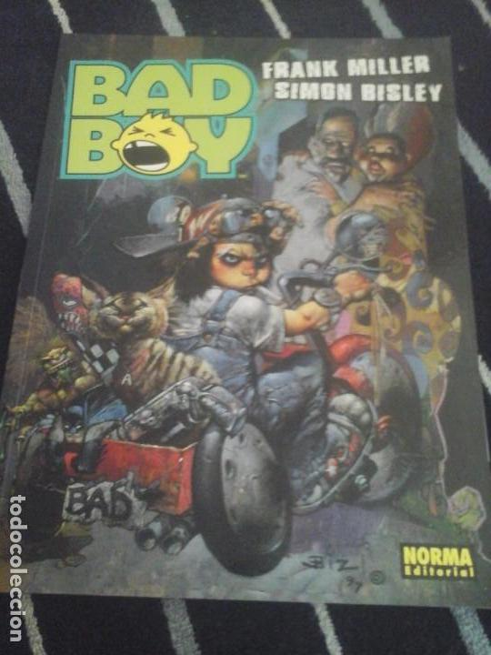 BAD BOY , FRANK MILLER-SIMON BISLEY (Tebeos y Comics - Norma - Comic USA)
