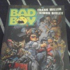 Cómics: BAD BOY , FRANK MILLER-SIMON BISLEY. Lote 134478810