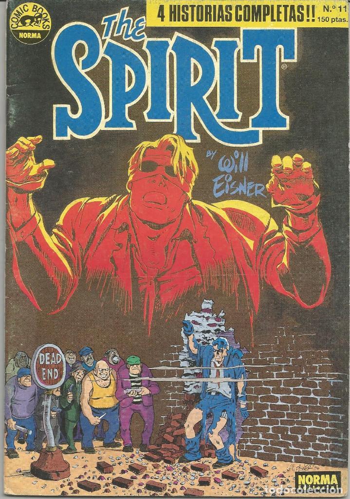 THE SPIRIT Nº 11 NORMA EDITORIAL (Tebeos y Comics - Norma - Comic USA)