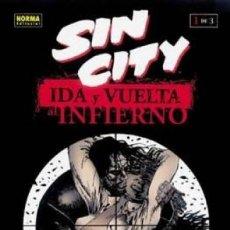 Comics: SIN CITY IDA Y VUELTA AL INFIERNO Nº 1 (FRANK MILLER) NORMA - COMO NUEVO - OFI15J. Lote 134817042