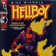 Cómics: HELLBOY - ED. NORMA - COLECCION COMPLETA DE 4 NUMEROS. Lote 134843998