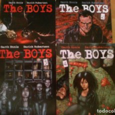 Cómics: THE BOYS. NORMA. 1 AL 4. Lote 134882930